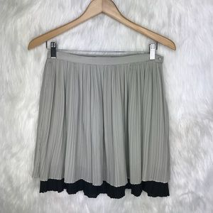 Anthropologie Under Skies Accordion Pleated Skirt